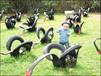 雕塑制作橡胶材质,轮胎造型创作设计