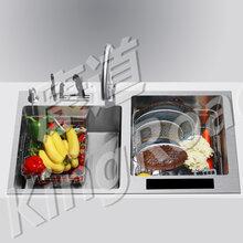 水槽洗碗机哪个牌子好康道超声洗碗机最靠谱