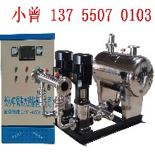 丽江小区学校工厂供水节能系统