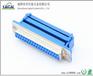DB37Pin(母头)压排式蓝色环保型