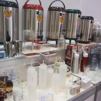深圳整套水吧咖啡奶茶設備收銀機水吧臺冰柜封口機開水機
