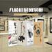 艺术板墙,书画展板,博物馆画展板墙,艺术展专用板墙