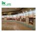 定制海南展会标摊设计搭建八棱柱书画展板展架厂家直销