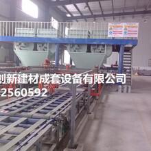 水泥纤维复合保温板设备自动化程度高