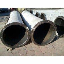大口径输水胶管威海吸排泥沙胶管橡胶管生产厂家图片