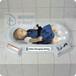 兒童醫院嬰幼兒學校專用桌上式臺面安裝嬰兒尿布臺