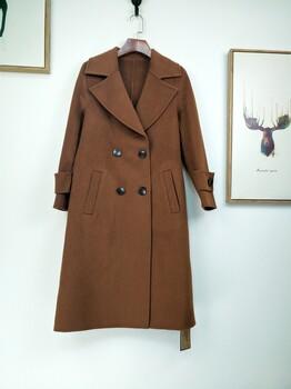 高端新款双面羊绒大衣
