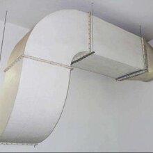 供甘肃永昌铁皮通风管和金昌玻璃钢通风管报价图片