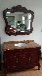 廠家直銷NK-0010諾客橡木紅棕色浴室柜