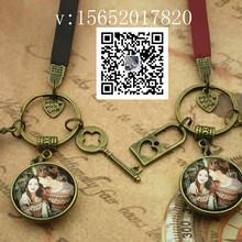 定制钥匙扣可放照片图案风景明星照片等图片
