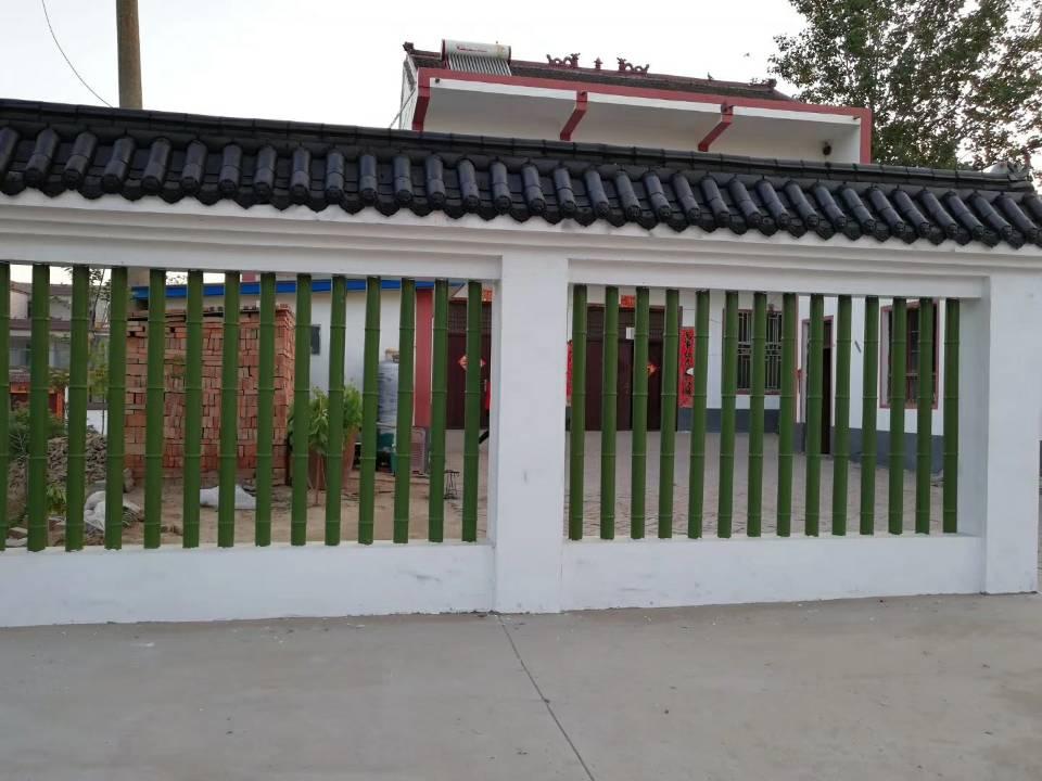 仿竹子护栏模具