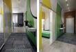 卫生间装修效果图厕所设计洗手间浴室帘最好就在乐华美居