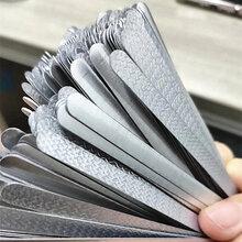 厂家供应KN95口罩鼻梁条0.4590热熔胶鼻梁条现货日产200万图片