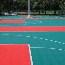 广西南宁悬浮地板篮球场幼儿园场地拼装运动场地飞跃体育图片