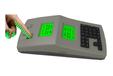 云消費機云食堂刷卡指紋取餐機