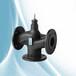 西门子电动蒸汽阀VVF53.50-40采暖换热机组的温度控制