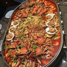 杭州海鲜大咖培训正宗海鲜大咖哪里学蟹肉煲技术培训小吃技术培训
