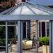 別墅會所陽光房露臺玻璃鋁合金玻璃房小區陽光房貨源地廠家