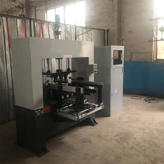 全自動數控校直機龍門式框架式自動送料液壓機高精度矯直整形設備圖片5