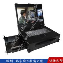 15寸机加工抽屉工业便携机机箱一体机定制加固笔记本外壳机箱军工电脑视频采集图片