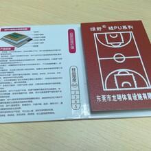 广东厂家环保水性硅pu塑胶篮球场弹性地面材料