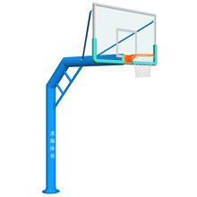 厂家直销室外篮球架单臂圆管篮球架篮球架系列