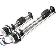 直線模組絲桿滑臺電動數控滑臺工業機械手直線導軌滑臺線性模組