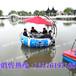 夏季避暑度假休?#20852;?#19978;乐园设备新型水上烧烤船HDPE时尚圆形船水上烧烤船