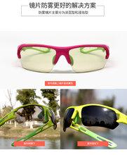 拓步防雾黄变骑行眼镜Magic自变色NXT防风户外运动跑步眼镜图片