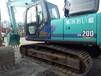 进口神钢200挖掘机