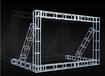 背景架钢铁桁架广告架展会棚铁架子桁架搭建