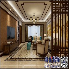 麻雀装饰打造观江国际中式风格效果图