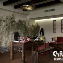 中式古典风办公室装修效果图