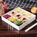 烘焙包裝盒原創西點蛋糕三明治月餅盒經典高檔透明吸塑蓋方形木盒