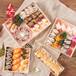 西点包装盒日式木制打包盒外卖盒月饼盒包邮批发