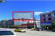 曲靖新世纪建材市场门口喷绘大牌广告位招商