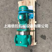 德国威乐MVI202立式不锈钢增压泵水雾喷淋泵
