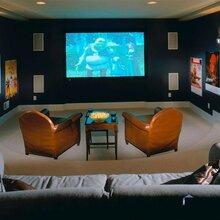 青岛地下室影音室设计方案,家庭影院效果方案