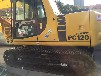 二手挖掘机小松120手续齐全黑龙江黑河小松挖掘机小型挖掘机