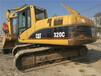 二手挖掘机卡特320车况无忧小型挖掘机卡特挖掘机
