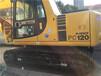 二手挖掘机小松120三大件无损小松挖掘机小型挖掘机