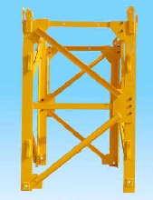 zoomlion塔吊标准节、中联塔吊片式标准节图片