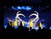 大型演出舞蹈秀外籍水晶球舞肩上芭蕾