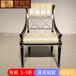 欧式餐椅拉卡萨实木餐椅休闲餐椅定制