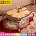 拉卡薩茶幾客廳實木雕花茶幾高端定制