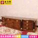 新古典视听柜法式实木雕刻轻奢电视柜高端定制