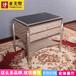 亚历山大欧式雕花床头柜轻奢法式床头柜高端定制