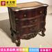 拉卡薩歐式雕花床頭柜輕奢法式床頭柜高端定制
