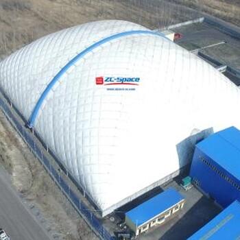 气膜煤场代理-中成空间170大跨度气膜建筑开创者