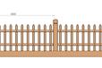 仿木栅栏水泥产品